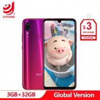 10431.1 руб. 36% СКИДКА|Глобальная версия xiaomi Redmi Note 7 3 ГБ ОЗУ 32 Гб ПЗУ мобильный телефон Snapdragon 660 Восьмиядерный 6,3