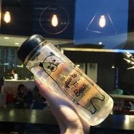 240.64 руб. 10% СКИДКА|Моя Мода ударопрочная бутылка путешествия кемпинг стакан для лимонного сока легко пространство здоровья бутылка воды 350/500 мл-in Шейкер Бутылок from Дом и сад on Aliexpress.com | Alibaba Group