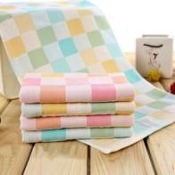 Хлопчатобумажная пряжа, детское полотенце для лица, домашние полотенца для абсорбент для кухни, плотная ткань для очистки, микробритва, сто...