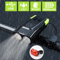 848.77 руб. 49% СКИДКА|4000 mAh индукционный велосипедный передний свет набор USB перезаряжаемая умная фара с рогом 800 люмен светодиодная велосипедная лампа Велосипедное освещение-in Велосипедная фара from Спорт и развлечения on Aliexpress.com | Alibaba Group