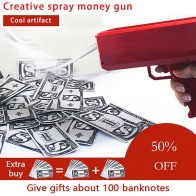 US $3.9 48% OFF|Make It Rain Money Gun Red Pink Toy Christmas Gift Party Toys Game 100PCS Cash Fashion Money Gun Toys Bubble Column For Package-in Toy Guns from Toys & Hobbies on Aliexpress.com | Alibaba Group