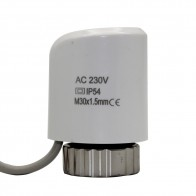 461.28 руб. 7% СКИДКА|230 В в без теплового привода электрический клапан для подогрева полов радиатор управления нормально открытым купить на AliExpress