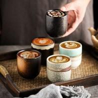 RHE 200 мл новые кофейные чашки керамические s кружки пивной чай Кружка для виски стеклянная посуда для напитков чашка керамическая латте спец... - Красивая кухня