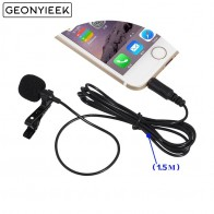 US $1.33 10% OFF|2 Pcs 3.5mm Jack Clip on Lapel Microphones Lavalier Tie Mikrofon Microfono Mic for Mobile Phone For Speaking Lectures Wholesale-in Microphones from Consumer Electronics on Aliexpress.com | Alibaba Group