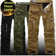 2027.83 руб. 49% СКИДКА|29 40 плюс размер мужские штаны карго зимние толстые теплые брюки Полная длина мульти карман повседневные военные мешковатые тактические брюки-in Брюки карго from Мужская одежда on Aliexpress.com | Alibaba Group