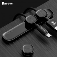 US $3.39 32% OFF|Baseus Magnetic Cable Organizer USB Cable Management Winder Clip Desktop Workstation Wire Cord Protector Cable Holder For iPhone on Aliexpress.com | Alibaba Group