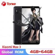 18173.15 руб. |Многоязычная ПЗУ оригинальный Xiaomi Max 3 4 ГБ ОЗУ 64 Гб ПЗУ 6,9