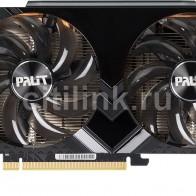 Видеокарта PALIT nVidia  GeForce GTX 1660 ,  PA-GTX1660 DUAL OC 6G