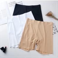 313.18руб. 5% СКИДКА|Новые летние тонкие женские шорты большого размера, ледяные шелковые крутые шорты высокой эластичности размера плюс, шорты под юбку для женщин-in Шортики для безопасности from Нижнее белье и пижамы on AliExpress - 11.11_Double 11_Singles