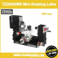 US $194.26 21% OFF|TZ20002MR 60W Metal Mini Rotating Lathe/60W,12000rpm Big Power mini lathe-in Lathe from Tools on AliExpress - 11.11_Double 11_Singles