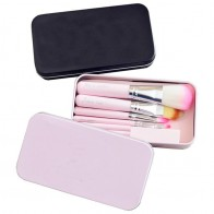 US $2.28 21% OFF|1set pink black 7Pc/set Mini Makeup brush Set cosmetics kit de pinceis de maquiagem make up brush Kit with Iron Metal box-in Eye Shadow Applicator from Beauty & Health on Aliexpress.com | Alibaba Group