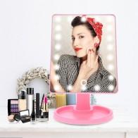 661.1 руб. 10% СКИДКА|Регулируемый светодиодный сенсорный экран зеркало для макияжа usb зарядка 180 градусов вращающийся квадратный косметическое зеркало инструменты дропшиппинг-in Зеркала для макияжа from Красота и здоровье on Aliexpress.com | Alibaba Group