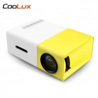 2180.14 руб. |Coolux YG300 YG 300 Мини ЖК дисплей светодиодный проектор 400 600LM 1080 p видео 320x240 пикселей Best домашний проектор купить на AliExpress