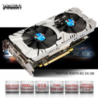 21055.4 руб. |Yeston Radeon RX 570 GPU 8 GB GDDR5 256 бит игровой настольный компьютер ПК видео Графика карты Поддержка сигнала от DVI/HDMI PCI E X16 3,0-in Графические карты from Компьютер и офис on Aliexpress.com | Alibaba Group