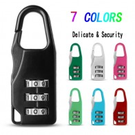 Mini Dial Digit Number Code Password Combination Padlock Security Travel Delicate Safe Lock for Padlock Luggage Lock of Gym