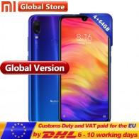 12292.77 руб. |Глобальная версия Xiaomi Redmi Note 7 64 Гб 4 телефон S660 Octa Core 4000 мАч 6,3