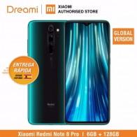 Глобальная версия Xiaomi Redmi Note 8 PRO 128 ГБ rom 6 Гб ram (последнее поступление!), note8 pro-in Мобильные телефоны from Мобильные телефоны и телекоммуникации on AliExpress