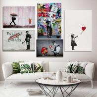 345.27 руб. 52% СКИДКА|Banksy граффити холст картины уличная художественная роспись стен Марио плакат ПОП воздушный шарик для девочек картина для гостиной декоративная рамка-in Рисование и каллиграфия from Дом и сад on Aliexpress.com | Alibaba Group