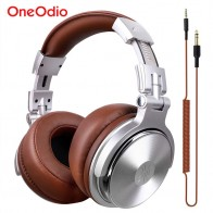 US $19.71 44% OFF|Oneodio Professional Studio DJ Headphones With Microphone Over Ear Wired HiFi Monitors Headset Foldable Gaming Earphone For PC-in Headphone/Headset from Consumer Electronics on Aliexpress.com | Alibaba Group