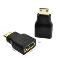 62.08 руб. 10% СКИДКА|Centechia продажа Позолоченный 1080 P Mini Male HDMI в Стандартный HDMI Женский удлинитель адаптер on Aliexpress.com | Alibaba Group
