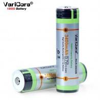 237.37 руб. 16% СКИДКА|VariCore Защищенный для 18650 3400 мАч батарея NCR18650B с оригинальным новым PCB 3,7 V подходит для фонарей-in Подзаряжаемые батареи from Бытовая электроника on Aliexpress.com | Alibaba Group