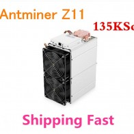 US $3534.3 |Asic Equihash Miner Antminer Z11 135k Sol/s ZCASH Miner Mining ZEC ZEN Better Than Innosilicon A9 Antminer S9 S11 S15 Z9-in Block Chain/Miner from Computer & Office on Aliexpress.com | Alibaba Group