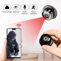 551.95руб. 40% СКИДКА|SDETER 1080P Беспроводная мини Wi Fi камера, домашняя камера безопасности, IP CCTV камера наблюдения, ИК ночное видение, обнаружение движения, детский монитор P2P on AliExpress
