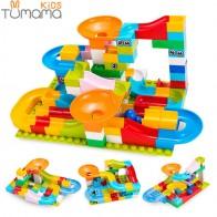 US $9.99 30% OFF|Tumama 52 208Pcs Marble Race Run Maze Balls Track Building Blocks Funnel Slide Big Building Brick Compatible building blocks-in Blocks from Toys & Hobbies on Aliexpress.com | Alibaba Group