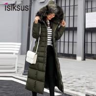 2138.38 руб. 40% СКИДКА|Isiksus стеганые теплые пуховики женские s зимние плюс размер длинные стеганые черные с капюшоном пальто с мехом Куртка 2018 парки для женщин WP013-in Парки from Женская одежда on Aliexpress.com | Alibaba Group
