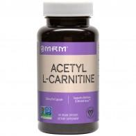 MRM, Ацетил-L-карнитин, 500мг, 60веганских капсул