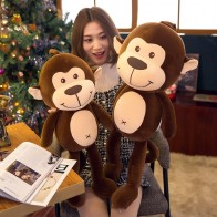 US $5.57 30% OFF|30 70cm cute cute monkey doll plush toy soft pillow monkey plush stuffed animal child boy girlfriend gift WJ124-in Stuffed & Plush Animals from Toys & Hobbies on AliExpress - Мягкие игрушки