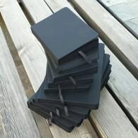 699.51 руб. 40% СКИДКА|Все черные бумажные пустые внутренние страницы портативный маленький карманный блокнот для заметок, канцелярские товары Подарочный блокнот в твердом переплете A5 A6 Размер-in Записные книжки from Офисные и школьные принадлежности on Aliexpress.com | Alibaba Group
