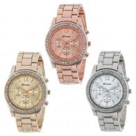 153.84 руб. 10% СКИДКА|2018 Новая мода в виде хронографа покрытием Классический Женева кварцевые женские часы для женщин наручные часы с кристаллами Relogio Feminino Лидер продаж-in Женские часы from Ручные часы on Aliexpress.com | Alibaba Group