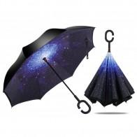 Зонт наоборот Звездное небоЗонт наоборот Звездное небо