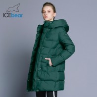 US $65.1 69% OFF|ICEbear 2018 Hot Sale Winter Womens Coats Down Thickening Jacket And Coat For Women High Quality Parka Five Colors 16G6128D-in Parkas from Women