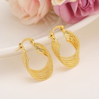 US $3.96 12% OFF|Bangrui African Earrings for Women Gold Color Round Earrings Jewelry,Ethiopian/Arab/Brazilian/Africa/Middle East/Nigeria-in Clip Earrings from Jewelry & Accessories on Aliexpress.com | Alibaba Group