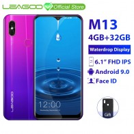 US $169.99 15% OFF|LEAGOO M13 4GB RAM 32GB ROM Mobile Phone Android 9.0 6.1