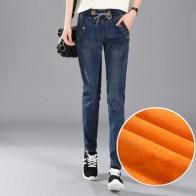 1361.54 руб. 49% СКИДКА|200 фунтов плюс Размеры 5XL Для женщин зимние Харлан джинсы для отдыха упругие талии брюки толстые девушки верхняя одежда с бархатной брюки MZ1891-in Джинсы from Женская одежда on Aliexpress.com | Alibaba Group