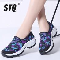 1256.6 руб. 37% СКИДКА|STQ 2019 весенние женские туфли на плоской платформе женские повседневные кроссовки из дышащей сетки женские слипоны кроссовки 1853-in Женская обувь без каблука from Туфли on Aliexpress.com | Alibaba Group