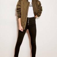 2212.82 руб. |Черные облегающие джинсы на молнии с высокой талией Trendyol TCLAW19LR0155-in Джинсы from Женская одежда on Aliexpress.com | Alibaba Group