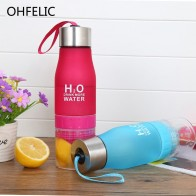 US $6.52 40% OFF|Creative Juice Infuser Water Fruit Bottle 650ml H2O Plastic Portable Lemon Juice Drink Bottle For Water Outdoor Shaker Sport -in Water Bottles from Home & Garden on Aliexpress.com | Alibaba Group
