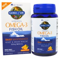 Minami Nutrition, Supercritical, Omega-3 Fish Oil, 850 mg, Orange Flavor, 60 Softgels - Витамины для сна и мозговой активности