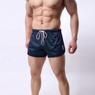Обтягивающие весенние и летние эластичные спортивные шорты для фитнеса для мальчиков, спортивные дышащие быстросохнущие спортивные шорты ...