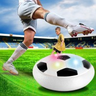 470.24 руб. 54% СКИДКА|Funny LED Light Flashing Ball Toys Air Power Soccer Balls Disc Gliding Multi surface Hovering Football Game Toy Kid Chidren Gift купить на AliExpress