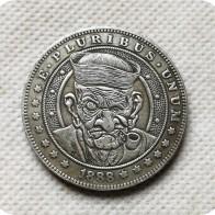 160.71 руб. |Тип # 15_Hobo Никель монет 1888 Морган доллар копирования монеты Реплика памятные монеты купить на AliExpress