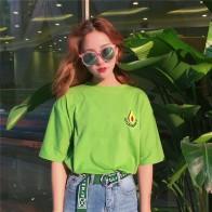 777.74 руб. 9% СКИДКА|YouGeMan 2019 весна лето футболка женская s Корейская одежда Ulzzang Harajuku зеленая футболка с коротким рукавом женская Повседневная футболка Топ-in Футболки from Женская одежда on Aliexpress.com | Alibaba Group