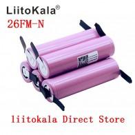 179.24 руб. 23% СКИДКА|Liitokala новый 100% оригинальный 18650 2600 mah аккумулятор ICR18650 26FM литий ионный 3,7 V аккумуляторная батарея + DIY никелевый лист-in Подзаряжаемые батареи from Бытовая электроника on Aliexpress.com | Alibaba Group
