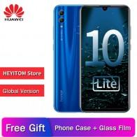 11237.36 руб. 30% СКИДКА|Оригинальный huawei Honor 10 Lite глобальная версия смартфона EMUI 9,0 полный экран 6,21