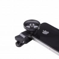 Линза для камеры телефона Универсальный клип на 0,4 X Супер широкоугольный внешний объектив мобильного телефона для iPhone samsung смартфон купить на AliExpress