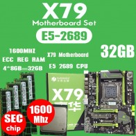 13348.34 руб. 57% СКИДКА|HUANANZHI X79 материнская плата LGA2011 ATX combos E5 2689 cpu 4 шт. x 8 ГБ = 32 ГБ DDR3 ram 1600 МГц PC3 12800R PCI E NVME M.2 SSD-in Материнские платы from Компьютер и офис on Aliexpress.com | Alibaba Group